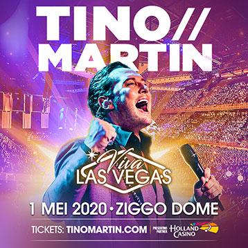 Tino Martin op vrijdag 1 mei 2020 in de Ziggo Dome